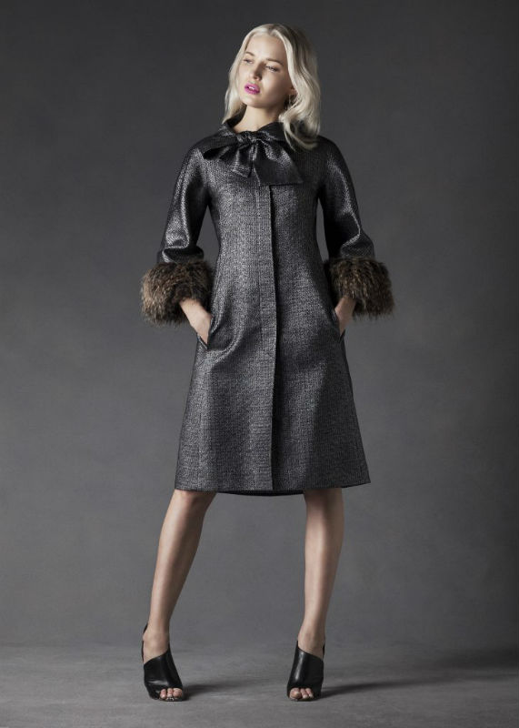 Black Wool Coat by Maire Forkin Dublin