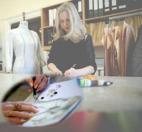 Dublin Fashion Designer, Maire Forkin