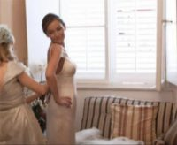 Wedding Dress Fitting by Irish Designer Maire Forkin