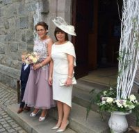 Mother of the Bride Outfit, Maire Forkin Designs
