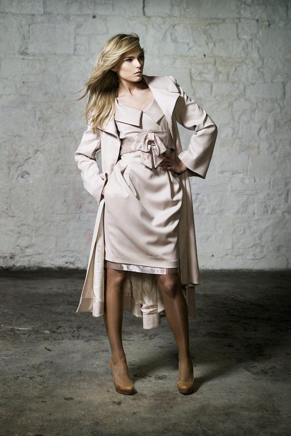 Designer Dress & Coat by Maire Forkin