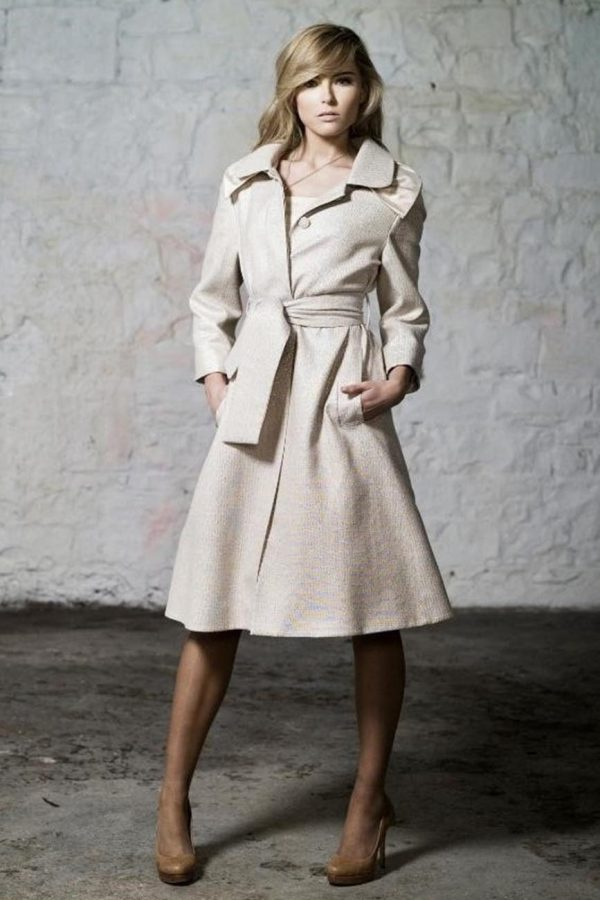 Designer Dress Coat by Maire Forkin Designs