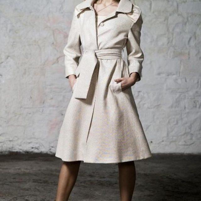 Designer Dress Coat by Maire Forkin Designs
