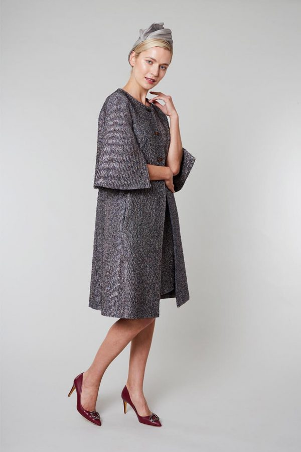 Designer Winter Wool Coat by Maire Forkin