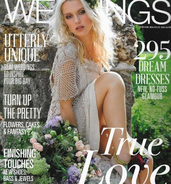 Irish Designer Maire Forkin in Social & Personal Magazine