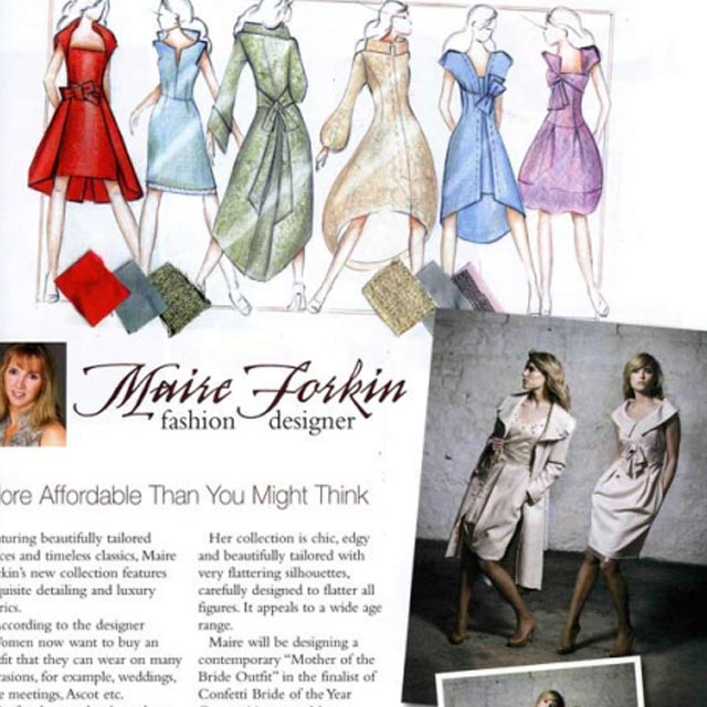 Custom Made Dresses and Coats by Maire Forkin Designs