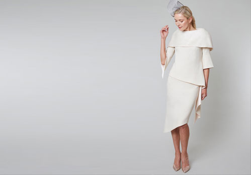 Mother of the Bride Outfit by Irish Designer Maire Forkin