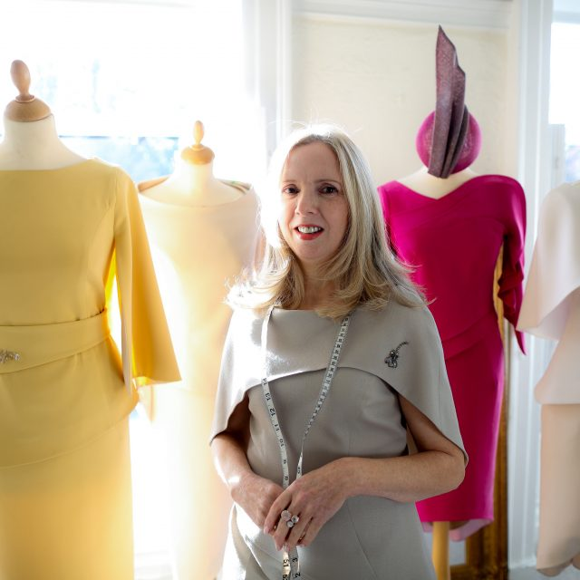 Irish Fashion Designer Maire Forkin