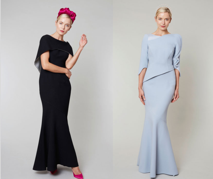 Black Tie Dresses by Irish Designer, Maire Forkin