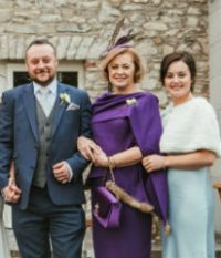 Custom Made Mother of the Bride Dress Dublin | Maire Forkin
