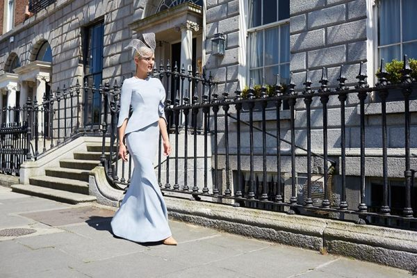 Exclusive custom made designer dresses by Irish Designer Maire Forkin