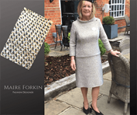 Dress for Royal Ascot by| Maire Forkin Designs Dublin
