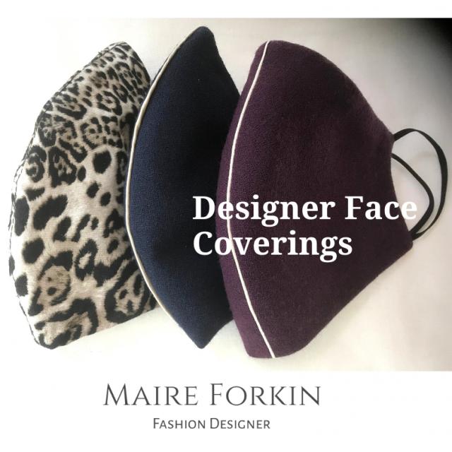 Designer Face Masks by Maire Forkin Dublin