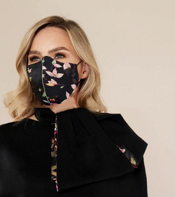 Bird Print Face Mask