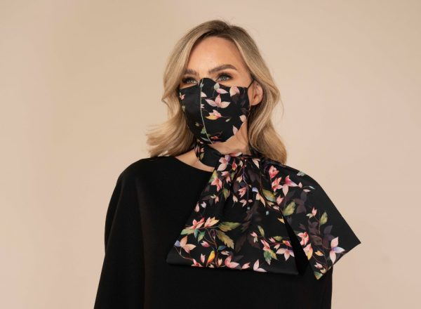 Silk Printed Face Coverings By Maire Forkin Designs