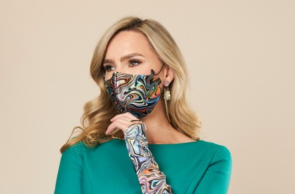 Gloves and face mask Maire Forkin Designs