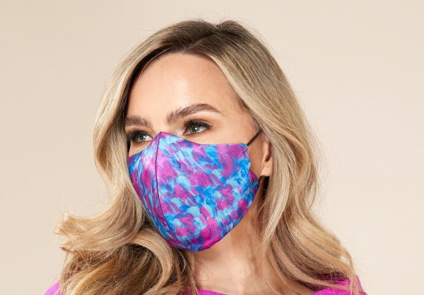 Designer Face Mask and Matching Scarf