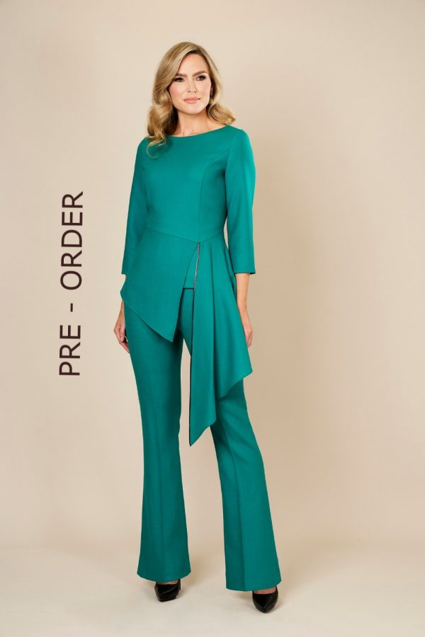Designer Wool Top and Trouser