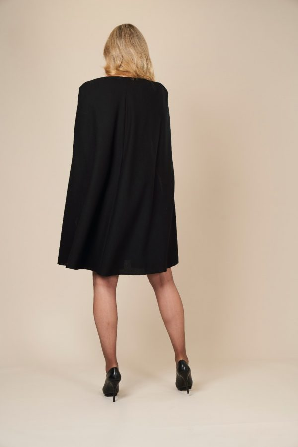 Wool Cape Dress by Maire Forkin