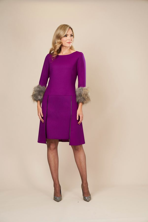 Chic, timeless dress by Maire Forkin Designs