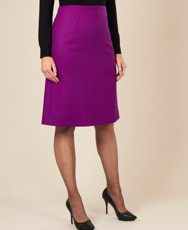 Purple designer skirts by Maire Forkin Designs