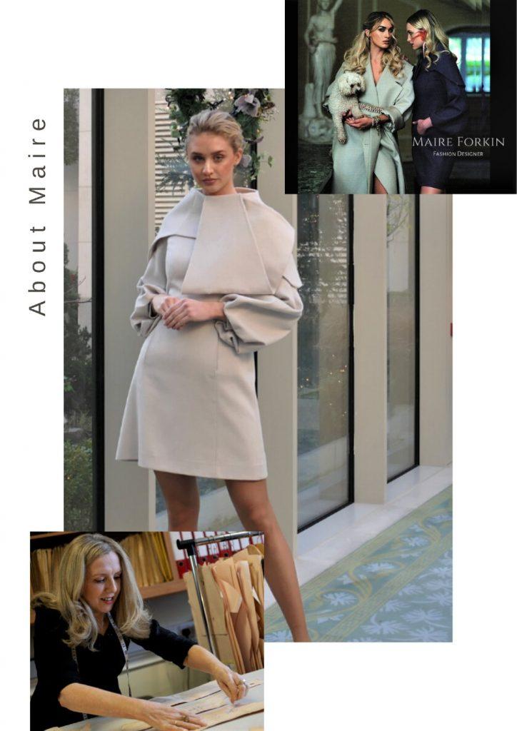Maire Forkin Dublin Fashion Designer