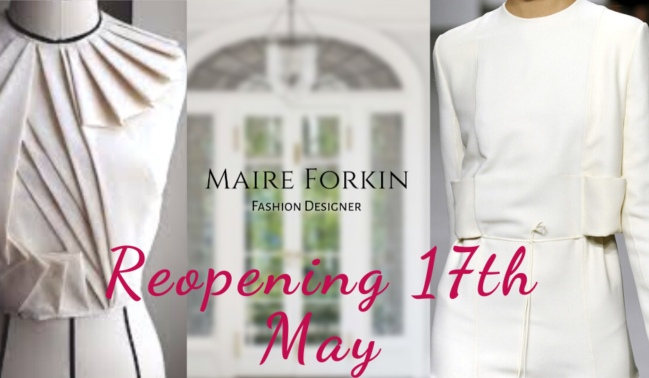 Maire Forkin Designs Reopening on 17th May